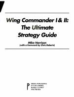 Wing Commander I and II PDF
