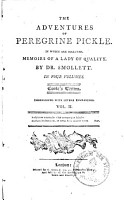 The adventures of Peregrine Pickle0 PDF