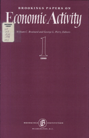 Brookings Papers on Economic Activity 1999 PDF