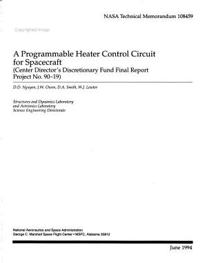 A Programmable Heater Control Circuit for Spacecraft PDF
