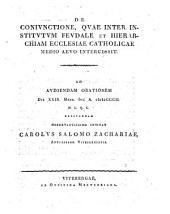 De coniunctione, quae inter institutum feudale et hierarchiam ecclesiae cath. medio aevo intercessit: progr