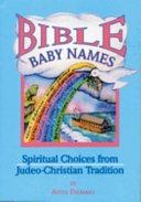 Bible Baby Names PDF