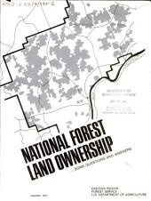 National forest land ownership: some questions and answers