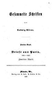 Gesammelte Schriften: Band 5