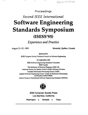 Second IEEE International Software Engineering Standards Symposium  ISESS 95  PDF