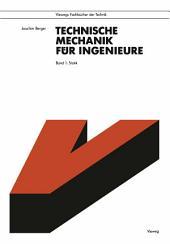 Technische Mechanik für Ingenieure: Band 1: Statik