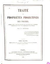 Traité des propriétés projectives des figures: ouvrage utile à qui s'occupent des applications de la géométrie descriptive et d'opérations géométriques sur le terrain, Numéro2
