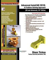 Advanced AutoCAD 2018  A Problem Solving Approach  3D and Advanced  24th Edition PDF