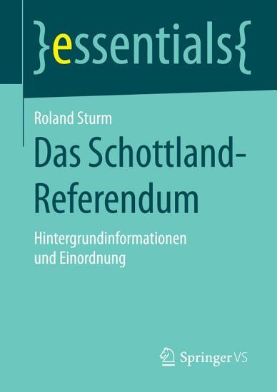 Das Schottland Referendum PDF