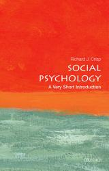 Social Psychology A Very Short Introduction Book PDF