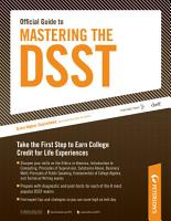 Official Guide to Mastering the DSST  Ethics in America PDF