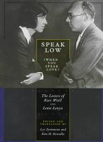 Speak Low (When You Speak Love)