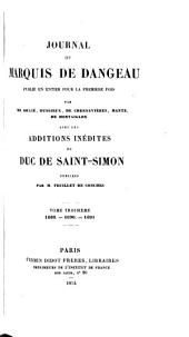 Journal du marquis de Dangeau: Volume 3