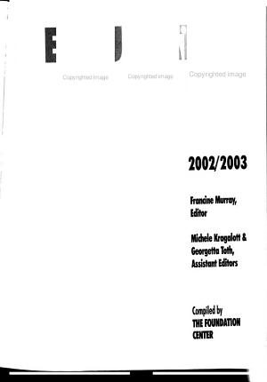 The Foundation 1000  2002 2003 PDF