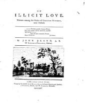 On illicit love: Written among the ruins of Godstow nunnery, near Oxford ...