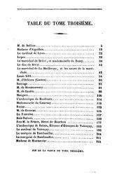 Les historiettes: mémoires pour servir à l'histoire du XVIIe siècle, Volume3