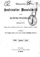 Konservative Monatsschrift fur Politik  Literatur und Kunst PDF