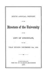 Annual Reports: Volume 6