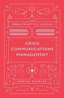 Crisis Communications Management PDF