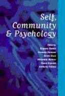 Self, Community and Psychology