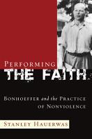 Performing the Faith PDF