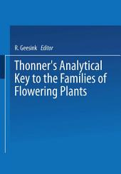 Thonner's analytical key to the families of flowering plants
