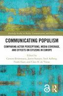 Communicating Populism