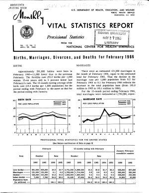 Monthly Vital Statistics Report PDF