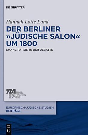 Der Berliner    j  dische Salon    um 1800 PDF