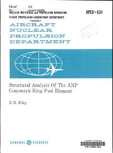 Structural Analysis of the ANP Concentric Ring Fuel Element PDF