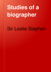 Studies of a Biographer: Volume 4