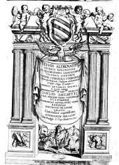 Vlyssis Aldrouandi ... De quadrupedibus solidipedibus volumen integrum Ioannes Cornelius Vteruerius ... collegit, & recensuit. Marcus Antonius Bernia in lucem restituit. ... Cum indice copiosissimo. ..