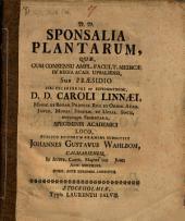 Sponsalia plantarum