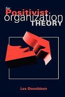 For Positivist Organization Theory PDF