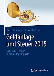 Geldanlage und Steuer 2015 PDF
