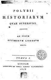 Polybii historiarum quae supersunt: Volume 2