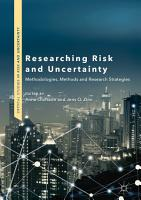 Researching Risk and Uncertainty PDF