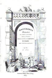 Memorie spettanti alla storia, al governo ed alla descrizione della città e campagna di Milano nè secoli bassi: VII