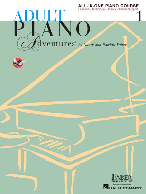 Adult Piano Adventures All in One Piano Course Book 1