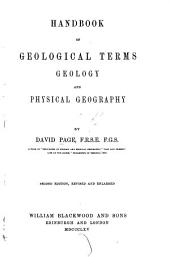 Handbook of Geological Terms and Geology