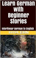 Learn German with Beginner Stories PDF