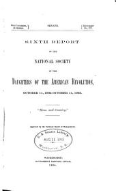Report - Daughters of the American Revolution: Volume 6