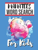 Manatees Word Search for Kids PDF
