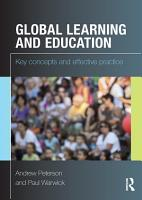 Global Learning and Education PDF