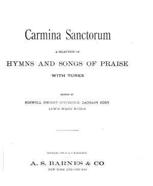 Carmina Sanctorum PDF