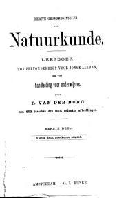 Eerste grondbeginselen der natuurkunde: leesboek tot zelfonderrigt voor jonge lieden, en tot handleiding voor onderwijzers, Volume 1