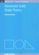 Advanced Solid State Theory PDF