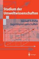 Studium der Umweltwissenschaften PDF