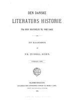 Den danske literaturs historie fra dens begyndelse til vore dage PDF