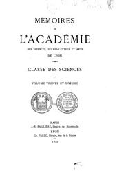 Mémoires: Volume31